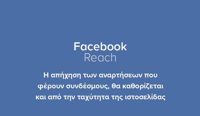 Facebook: Μειωμένο Reach Για Χαμηλής Ταχ...