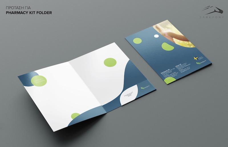Lifecyn Branding logo folder & notebook 2