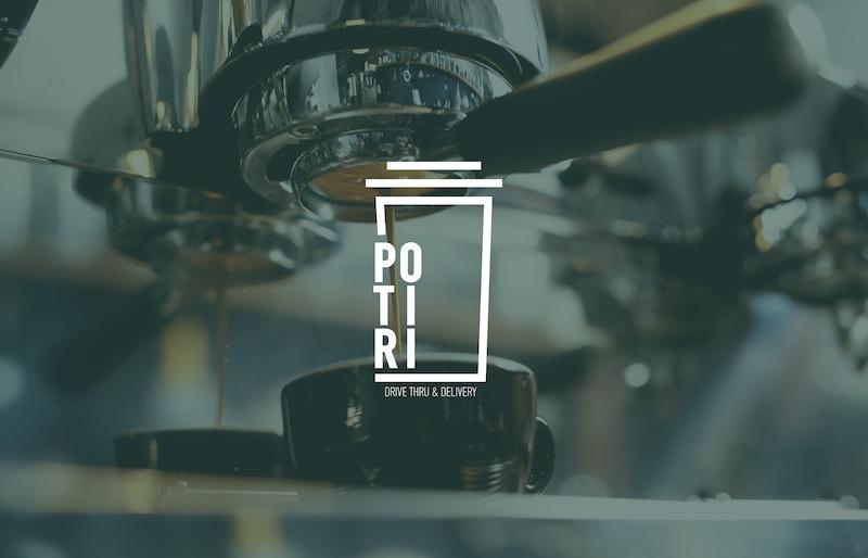 POTIRI drive- through Branding Logo 5