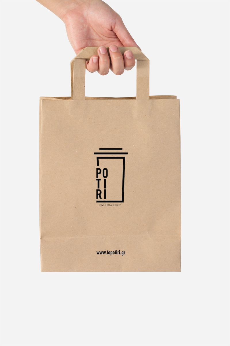 POTIRI drive- through Branding Logo 7